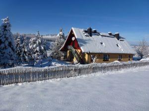 Ferenwohnungen Weissflog im Winter